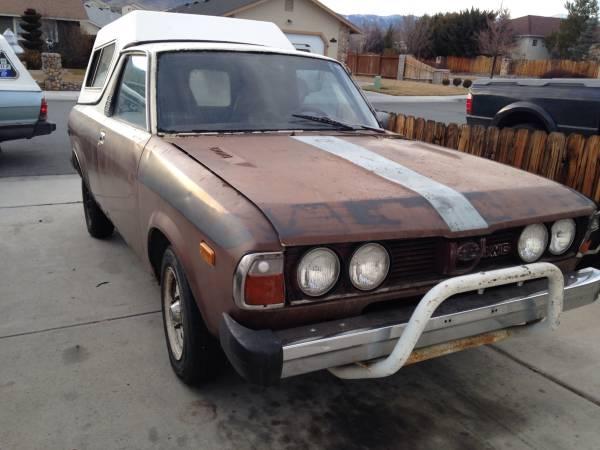 1980 Subaru BRAT For Sale in Carson City Nevada