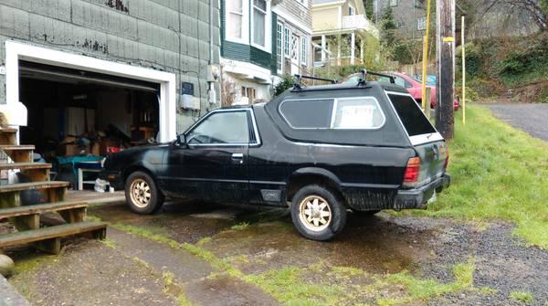 1983 Subaru BRAT GL For Sale in Astoria Oregon