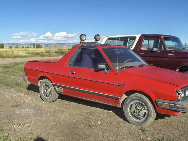 1985 Subaru BRAT V4 Manual For Sale in Laramie, Wyoming