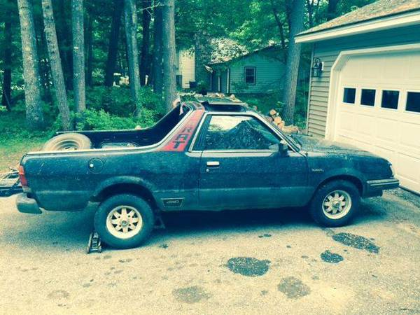 1985 subaru brat gl running driving project for sale in galveston tx. Black Bedroom Furniture Sets. Home Design Ideas