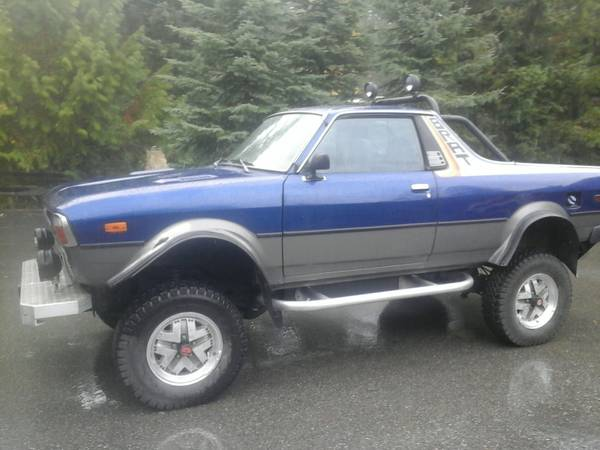 1981 Subaru Brat V6 Auto For Sale In Whistler British