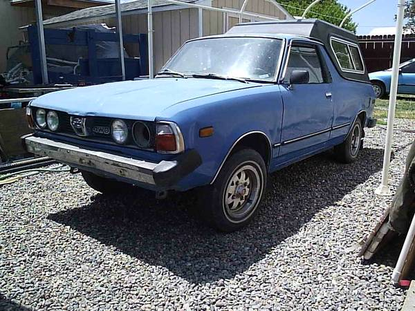 1979 1981 Subaru Brat Projects For Sale In Grand Junction