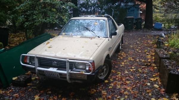 1982 Subaru BRAT Manual For Sale in Olympia, Washington