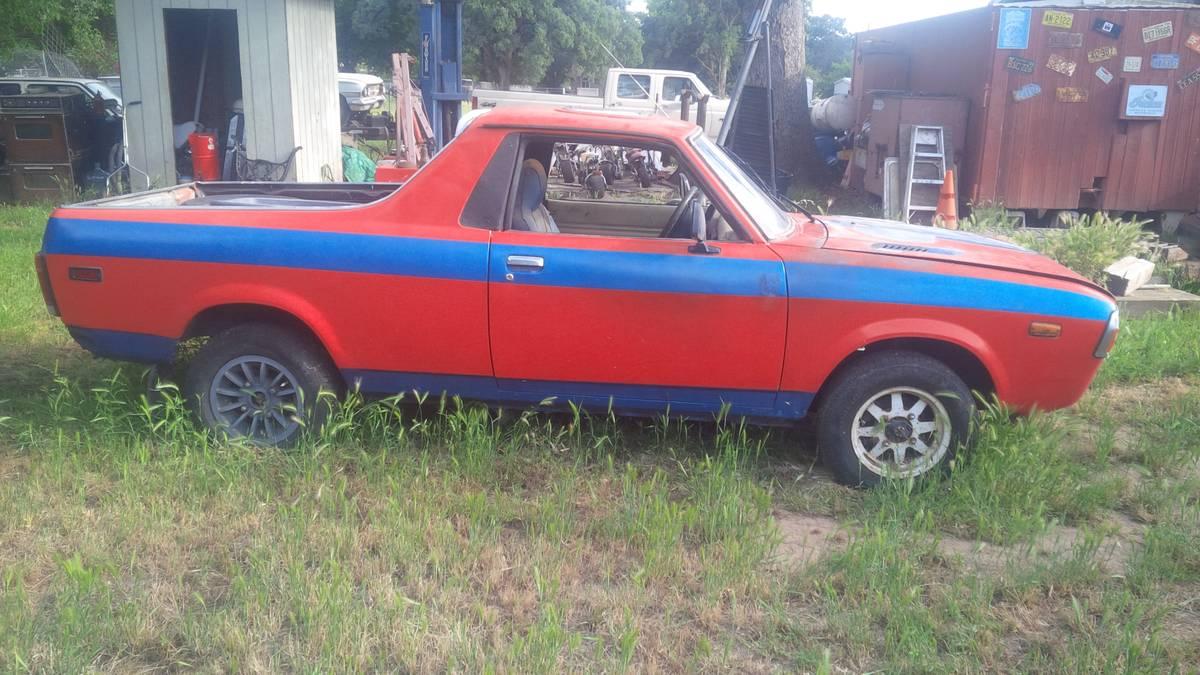 Subaru Brat For Sale Craigslist >> 1978 Subaru Brat 85 Turbo Manual For Sale In Red Bluff