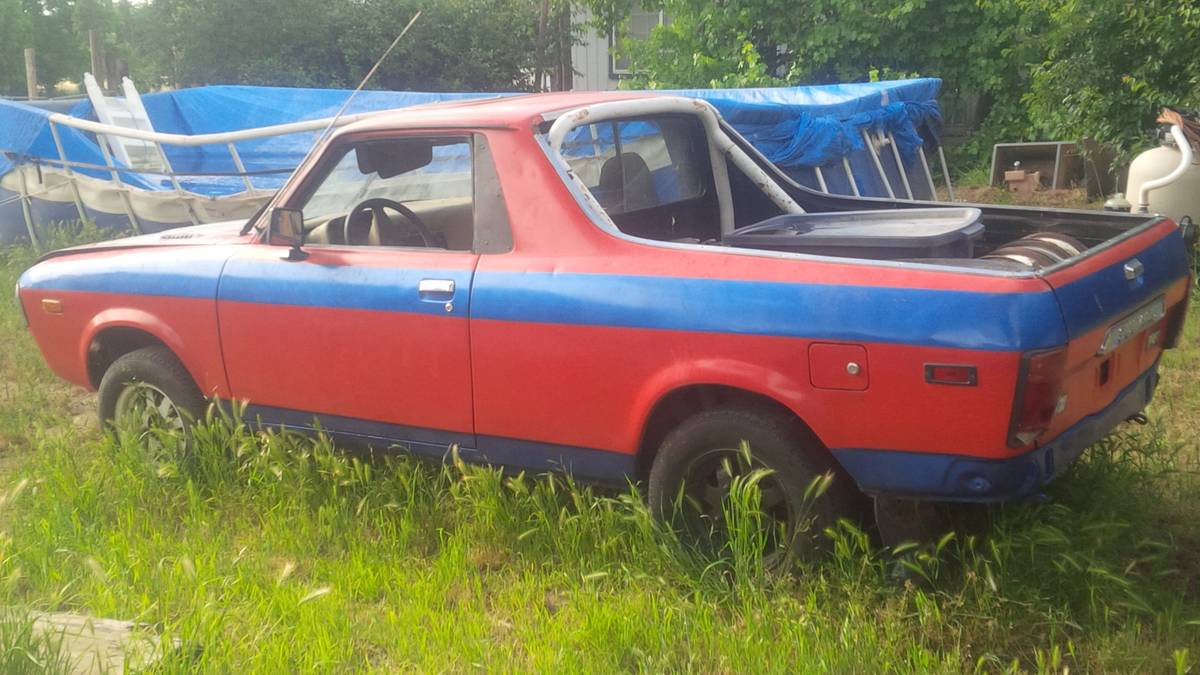 Craigslist Hudson Valley Cars >> 1978 Subaru BRAT 85 Turbo Manual For Sale in Red Bluff, California