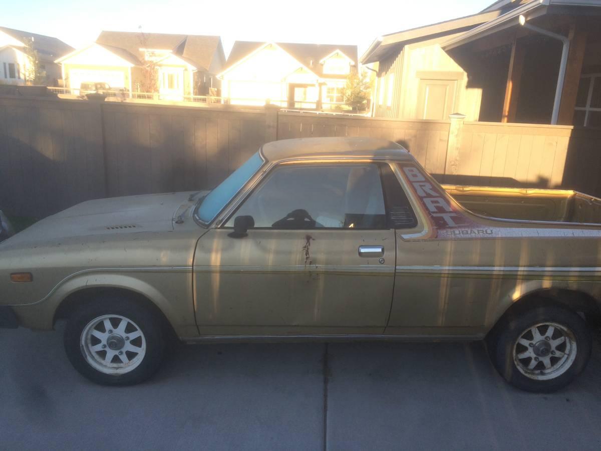 1979 Subaru BRAT V4 Manual For Sale in Bozeman, Montana