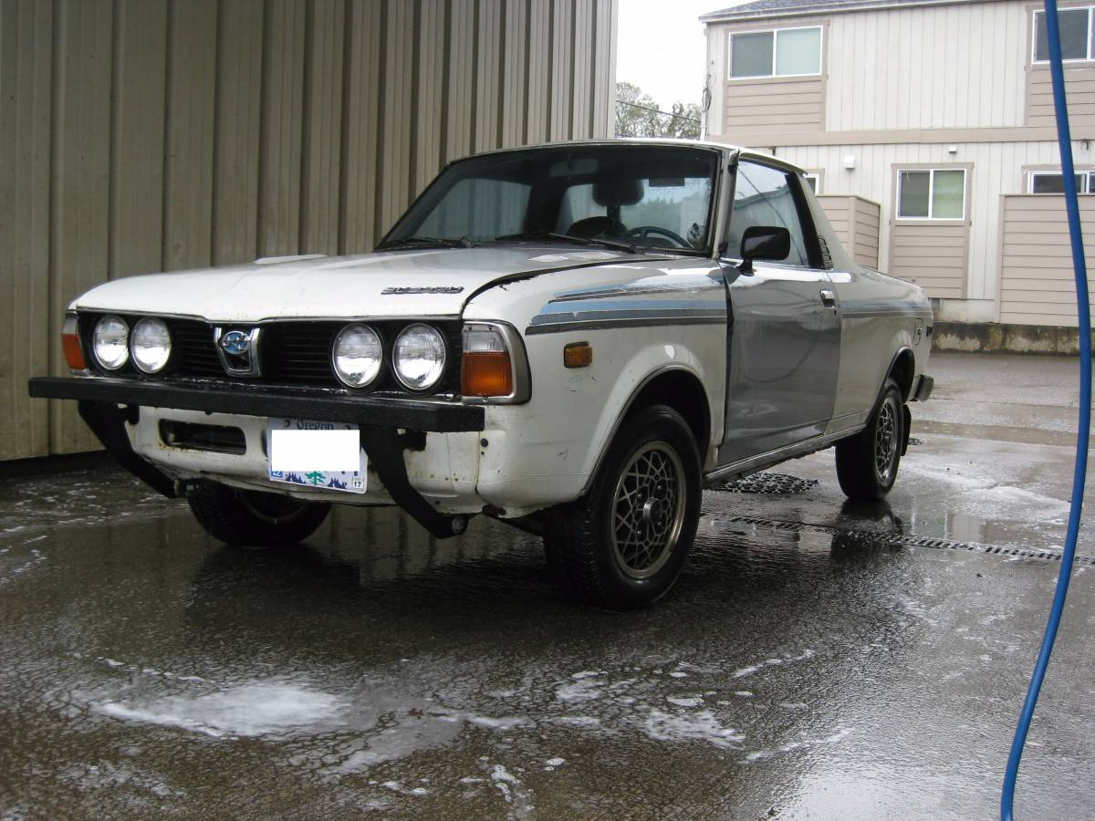 1980 Subaru BRAT 4WD For Sale in Eugene, Oregon