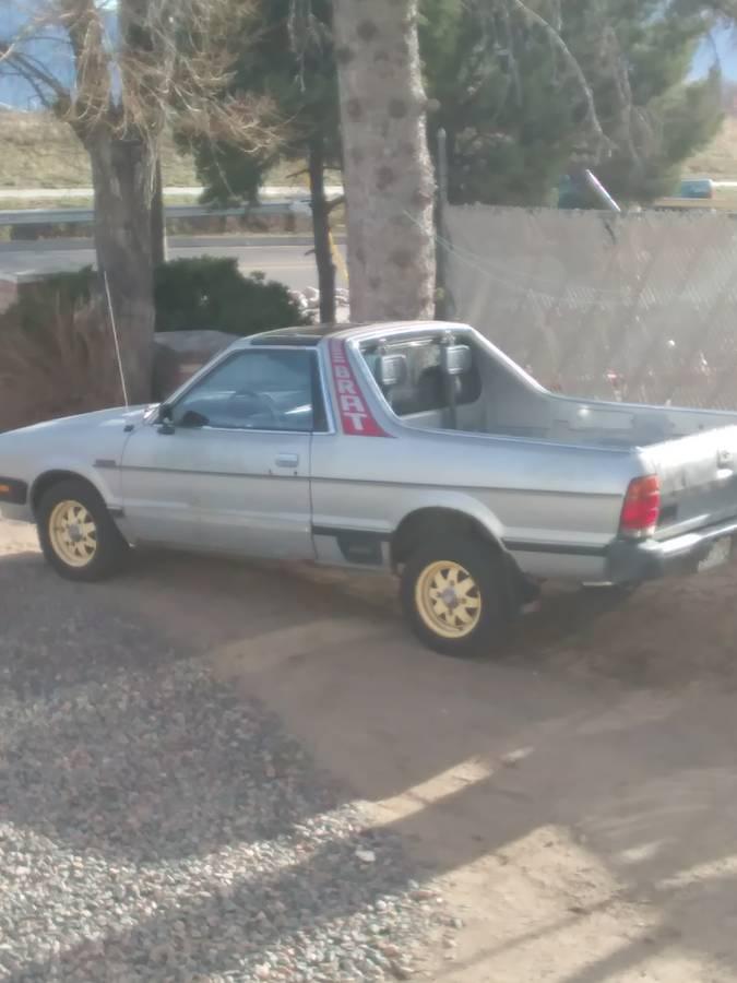 Craigslist Idaho Falls >> 1982 Subaru BRAT GL For Sale in Colorado Springs, Colorado