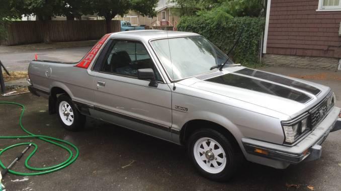1984 Subaru BRAT Excellent Condition For Sale in Spokane ...