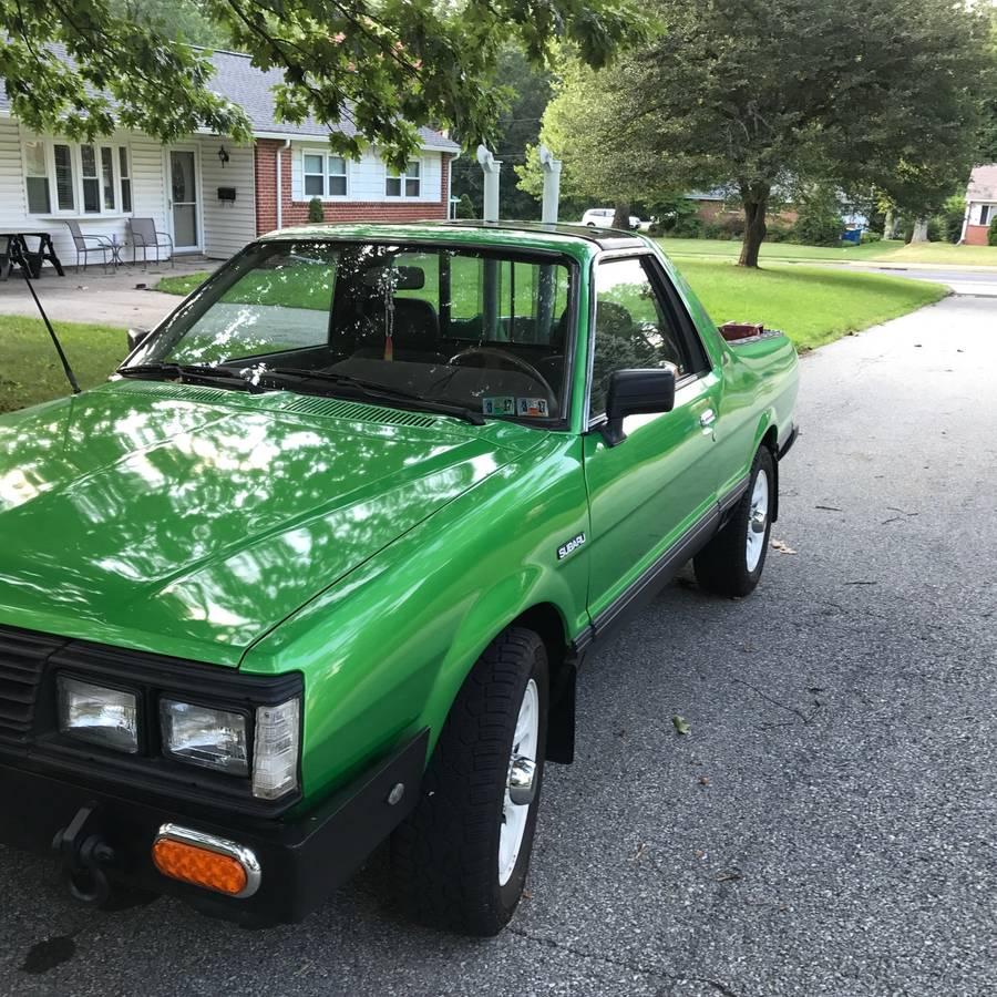 Subaru Brat For Sale Malaysia: 1987 Subaru BRAT Custom For Sale In East Norriton
