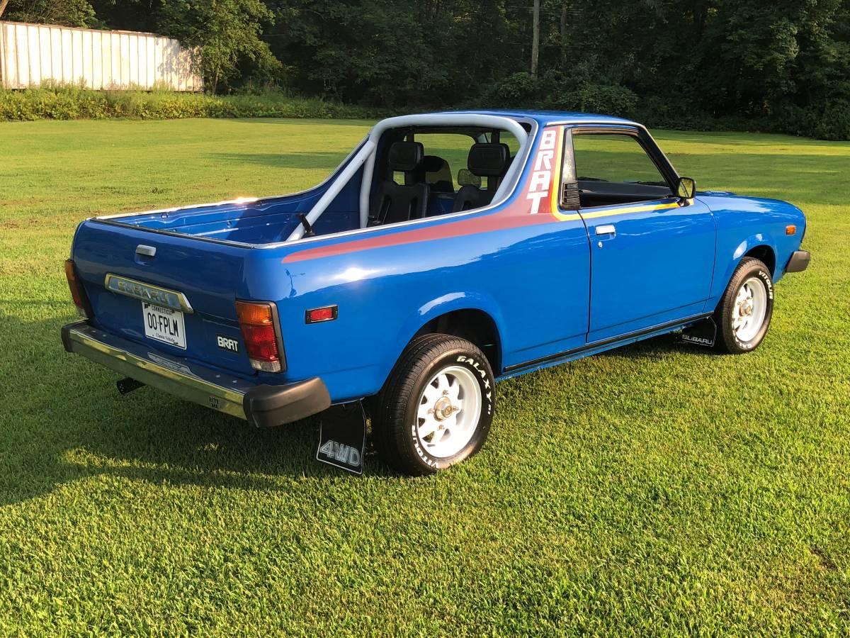 Subaru Brat For Sale Craigslist >> 1980 Subaru Brat Blue 4cyl For Sale In Plainfield Connecticut