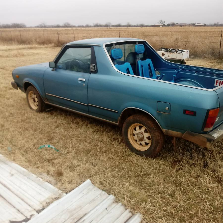 Subaru Brat For Sale Malaysia: 1979 & 1981 Subaru BRAT Projects And Parts For Sale In