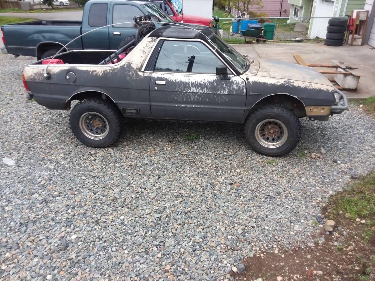 1984 Subaru BRAT Lifted 4WD For Sale in Snohomish, Washington