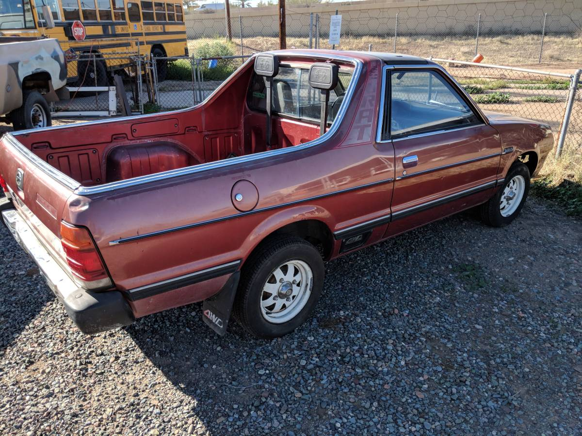 Subaru Brat For Sale Craigslist >> 1982 Subaru Brat Rust Free Manual For Sale In Phoenix Arizona