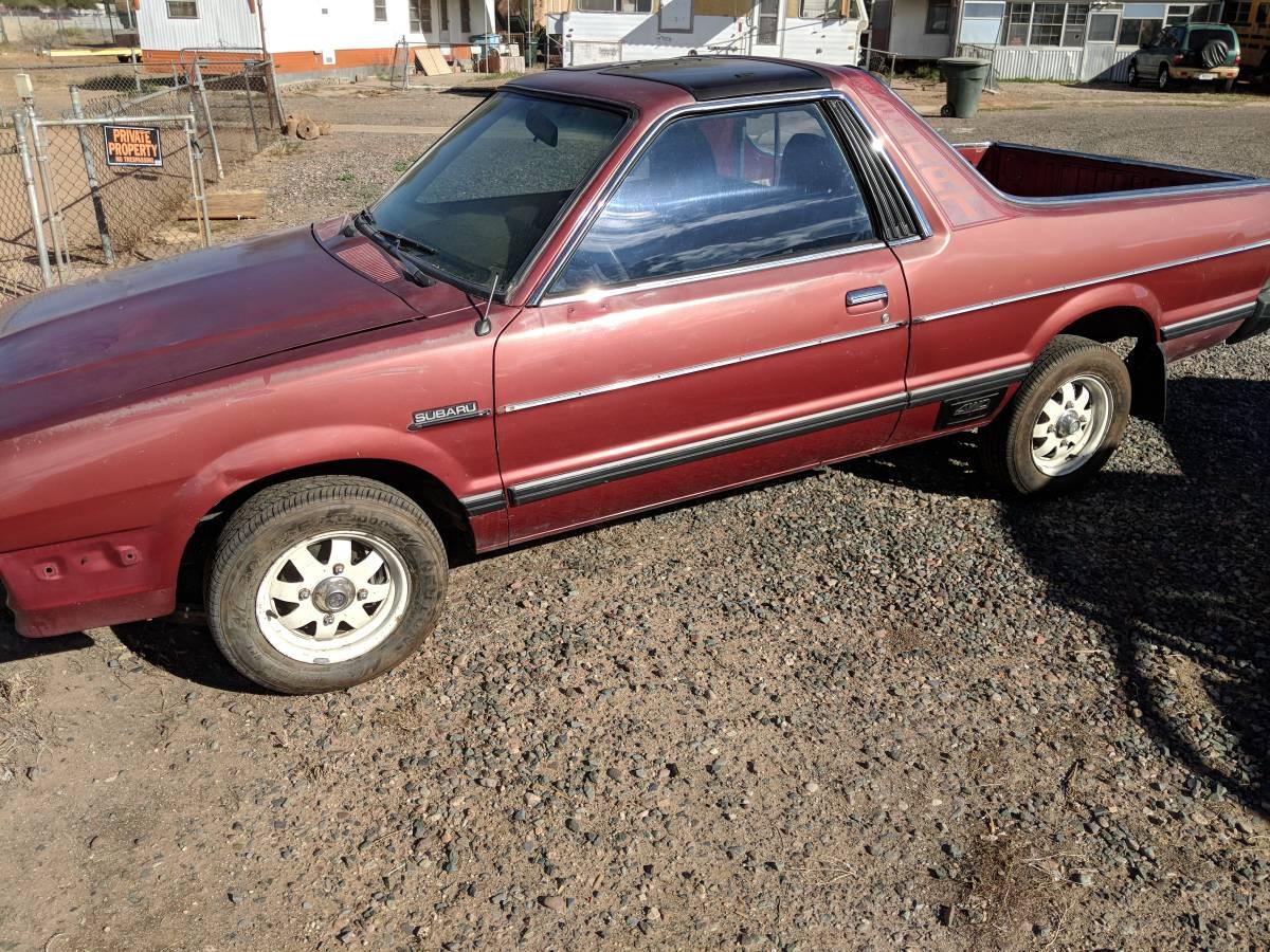 1982 Subaru BRAT Rust Free Manual For Sale in Phoenix, Arizona
