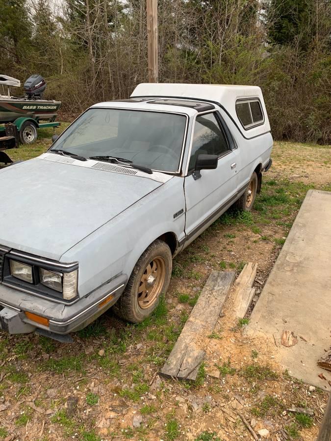 1985 Subaru BRAT 4x4 Manual For Sale in Concord, North Carolina
