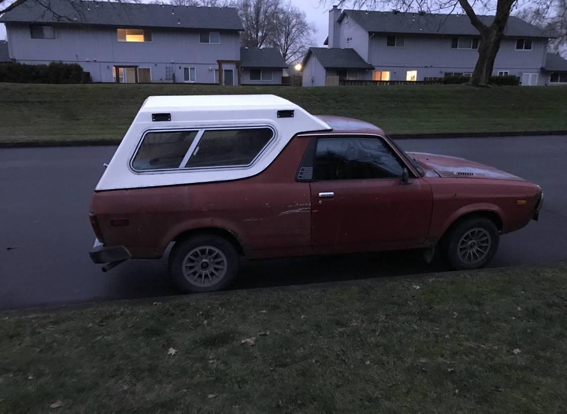 1979 Subaru BRAT Red Manual For Sale in Hillsboro, Oregon