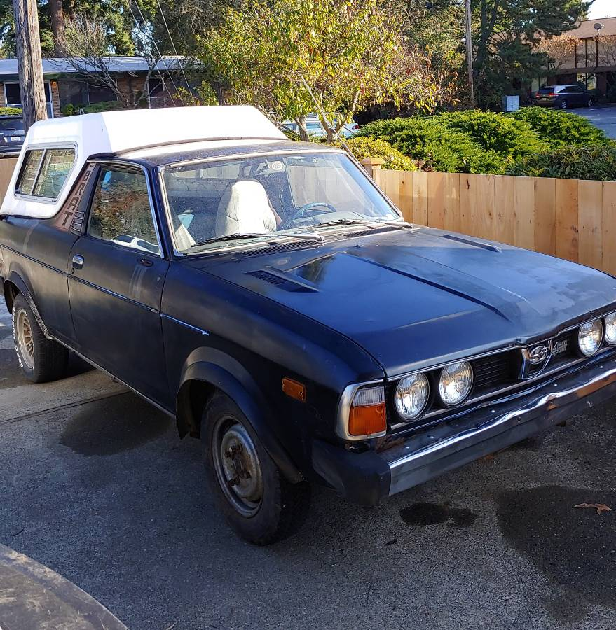 Subaru Brat For Sale Malaysia: 1978 Subaru BRAT 4 Speed 1.6L For Sale In Edmonds, Washington