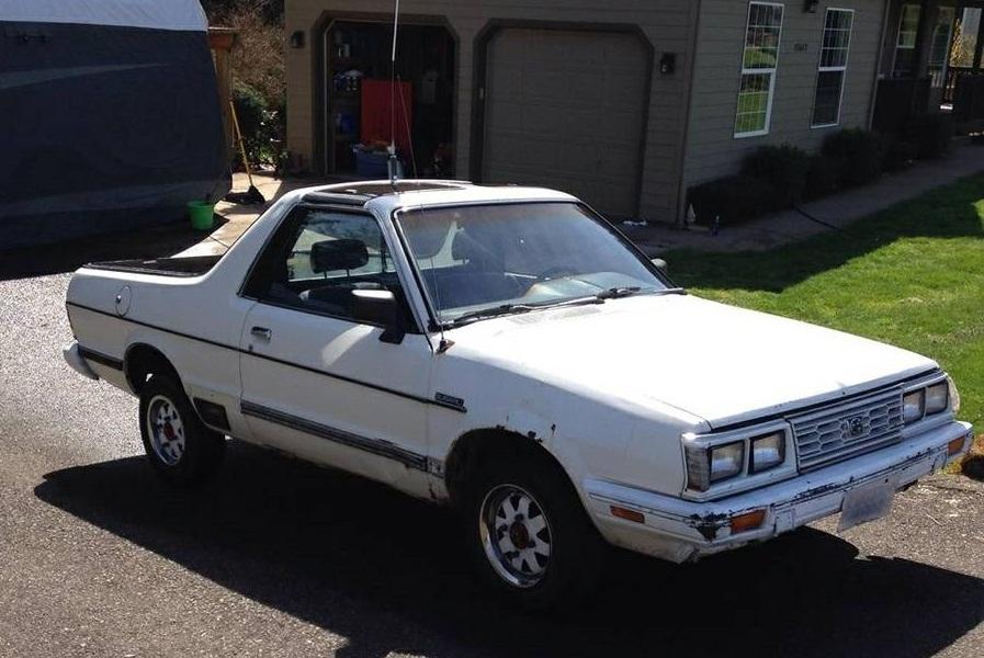 1984 Subaru BRAT Project Manual For Sale in Palatka, Florida