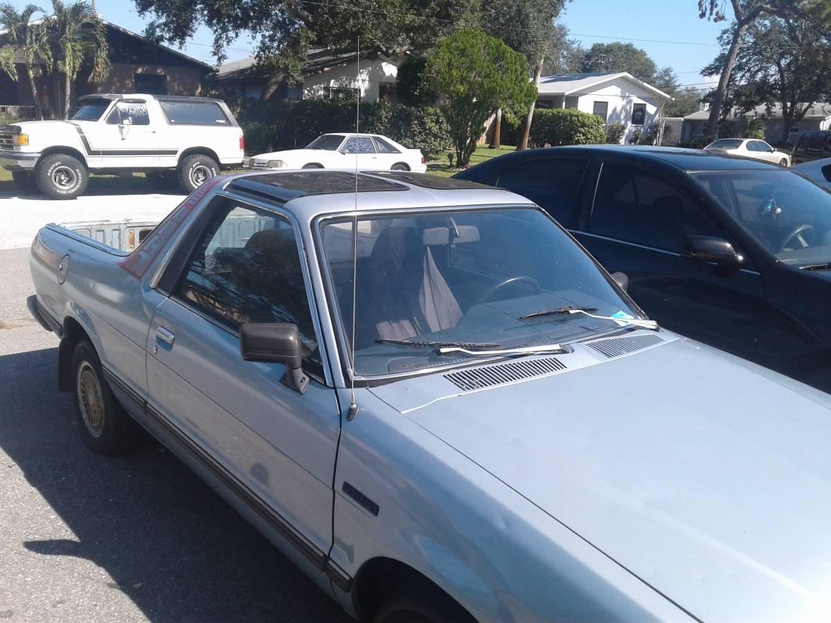 1986 Subaru BRAT 4cyl 4spd For Sale in St. Petersburg, Florida