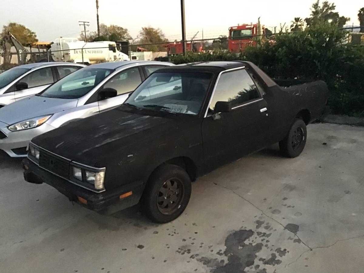 1986 Subaru BRAT 4WD Manual For Sale in San Bernardino ...