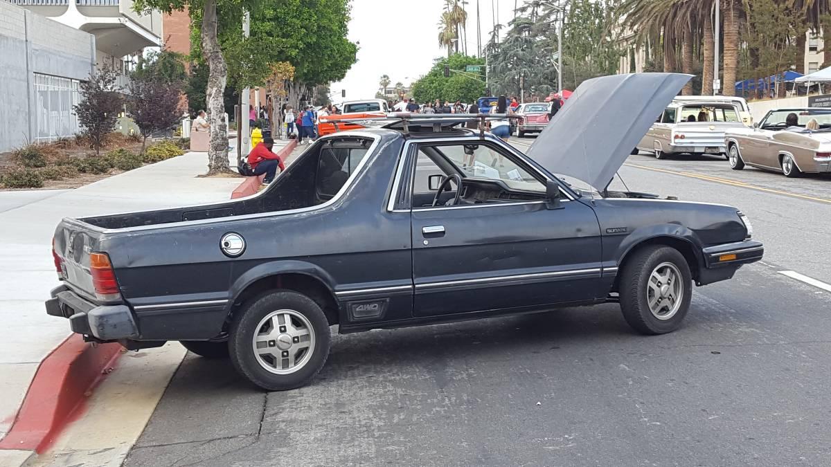 1985 Subaru BRAT 4cyl Manual For Sale in San Bernardino ...