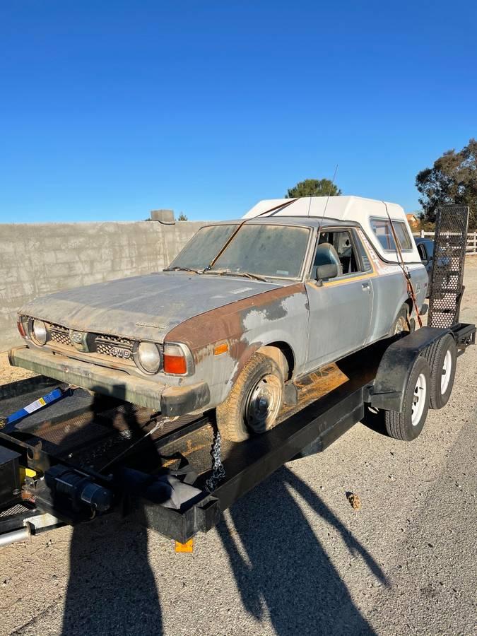 1981 Subaru BRAT Manual For Sale in Santa Clarita, California